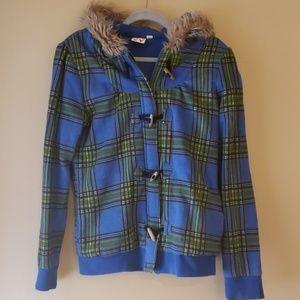Roxy Jacket with Faux Fur Hood